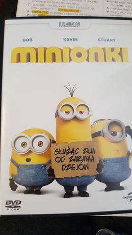 Minionki płyta dvd