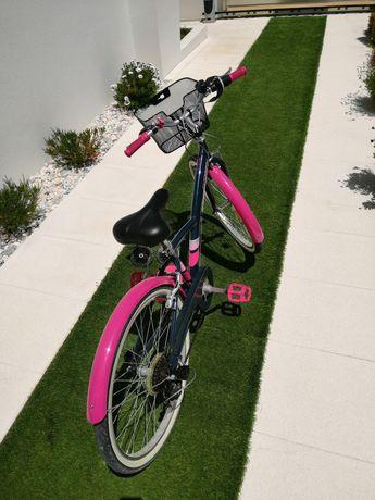 Bicicleta de trekking criança BTWIN 500
