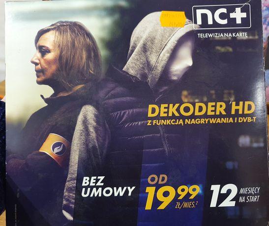 Dekoder HD NC+ z nagrywaniem
