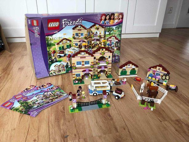 LEGO Friends 3185 Letni obóz jeździecki stan bdb Kompletny
