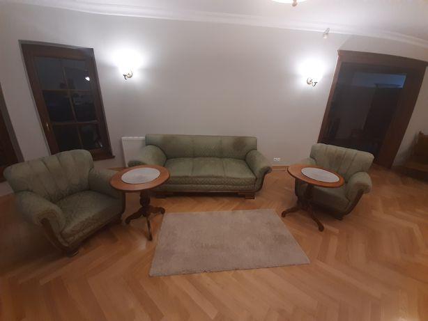 Antyki sofa+dwa fotele