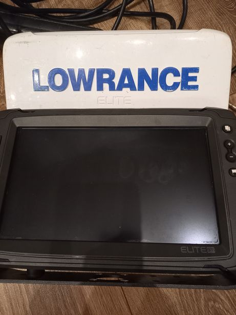Echosonda Lowrance elite 9 ti totalscan 3w1