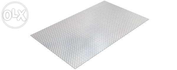 Blacha aluminiowa ryflowana 2000x1000 x1 do 5 mm cięcie gilotyną