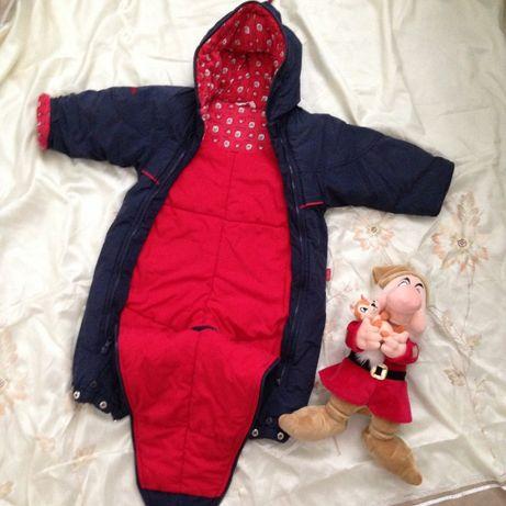 Зимний теплый комбинезон Bambino Fairy Tale Германия 6-9 месяцев