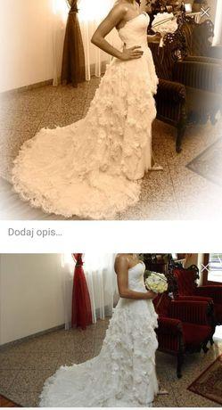 Wynajmę suknie ślubną projektantki Grażyny Wilczak