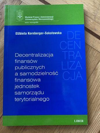 Decentralizacja finansów publicznych wydawnictwo liber