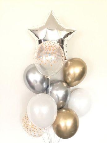 Гелієві кульки шаріки повітряні кульки