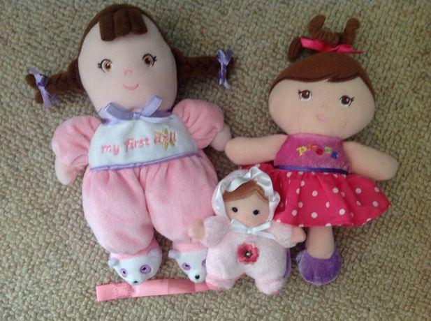 Куколки для новорожденной девочки