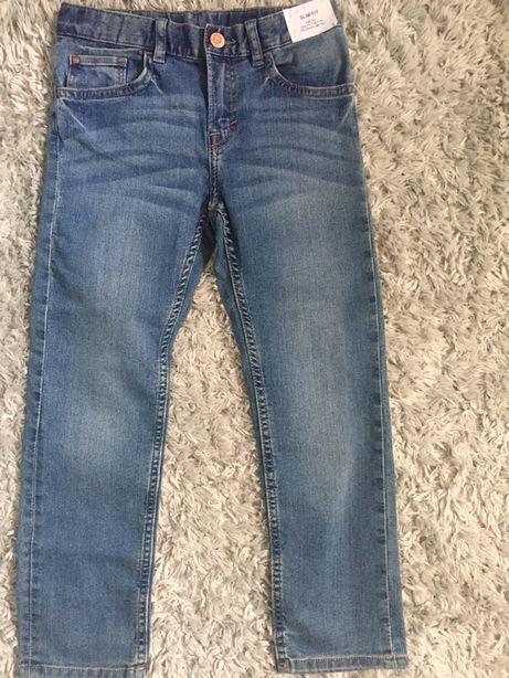 Spodnie jeansy h&m nowe! r. 122