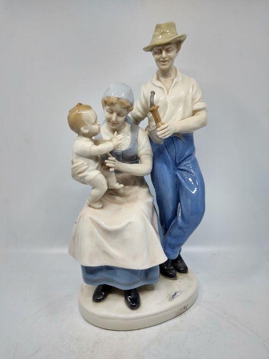 Figurka porcelanowa Rodzina - GRAFENTHAL Bielsko-Biała - image 1