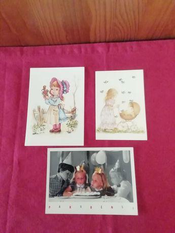 Diversos postais