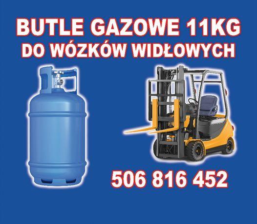 Punkt wymiany butli gazowych 11kg do wózków widłowych