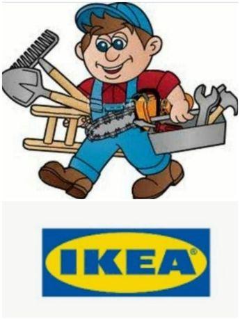 Montagem móveis IKEA sem taxa deslocamento - disponibilidade imediata!
