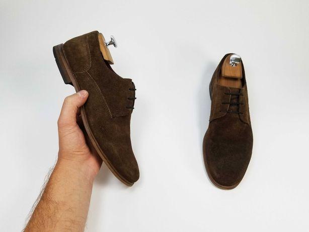 RIVER ISLAND мужские туфли туфлі 40 25.5 см