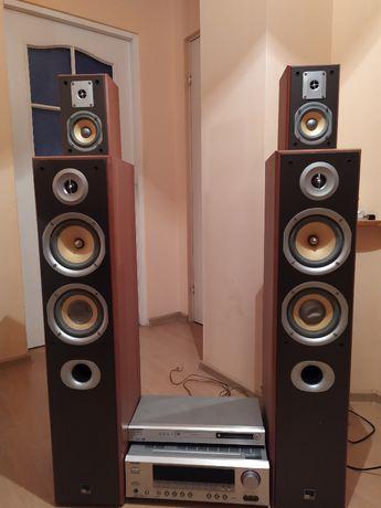 Kino domowe ONKYO Amplituner TX-SR503E + Głośniki M AUDIO
