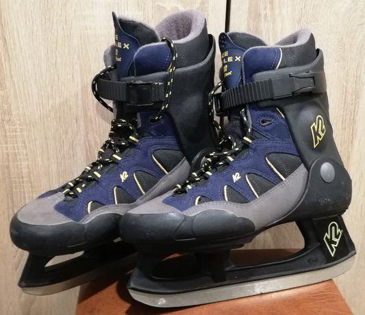 Łyżwy hokeje K2 Ice Reflex rozm.40,5, wkładka 26,5