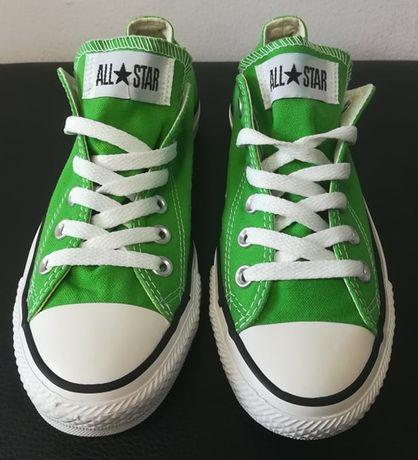 Trampki Converse All Star - zielone - rozm. 37,5
