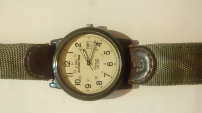 Timex expedition indiglo data