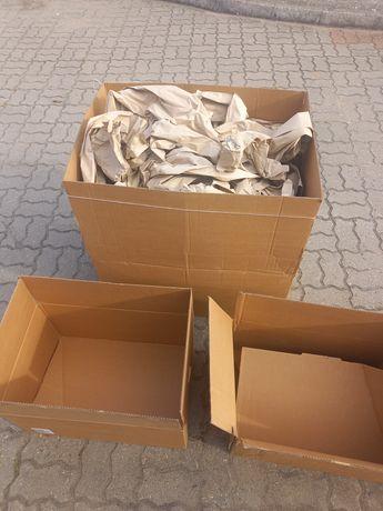 Kartony, papier pakowy