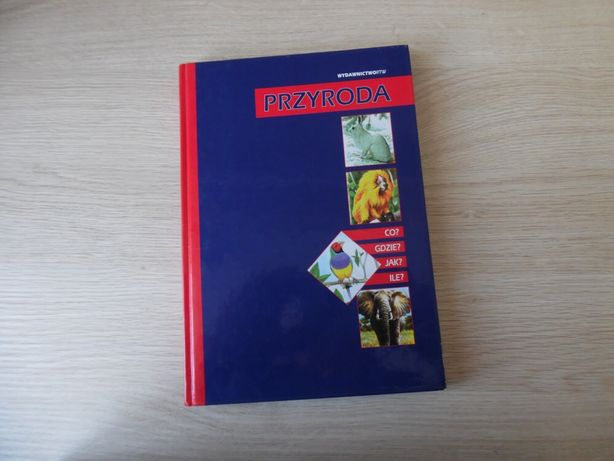 """Książka naukowa dla dzieci """"Przyroda"""""""