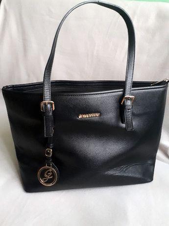 duża czarna torba Gallantry