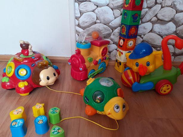 Super zabawki interaktywne,dźwiekowe,jeżdżące,solidne,bezpieczne.