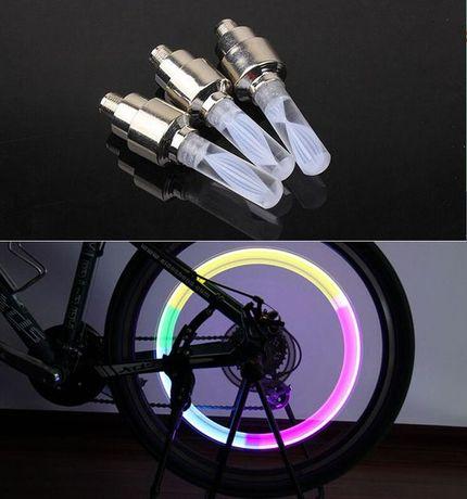 Válvula RGB Led para Bicicletas e Motas