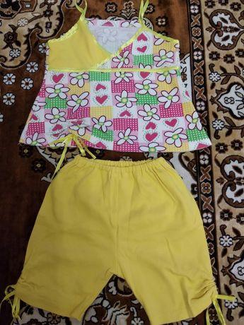 Продам летние платья и костюмчики на 2-4 года, в идеальном состоянии.