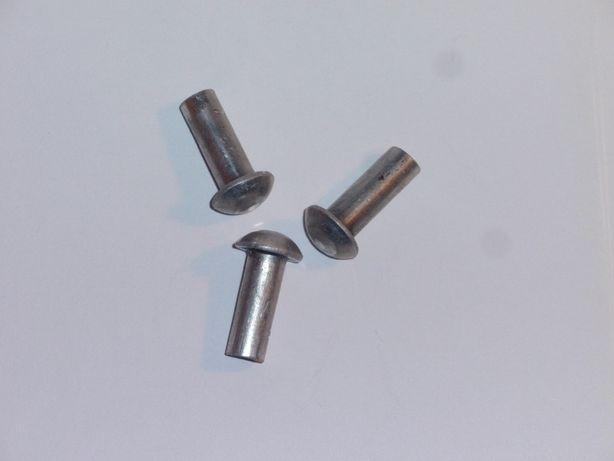 Заклепка алюминиевая полукруг Ø 8 мм.