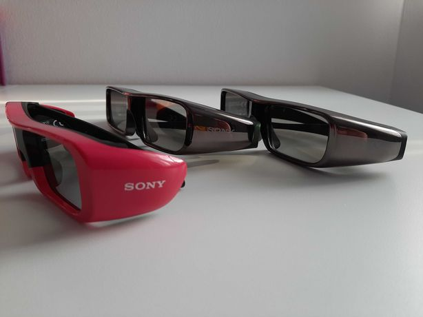 Okulary 3D SONY TDG BR100 + SONY TMR BR100 zestaw