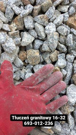 Tłuczeń betonowy granitowy piasek 0-4 Dachowa Robakowo Poznań Tulce