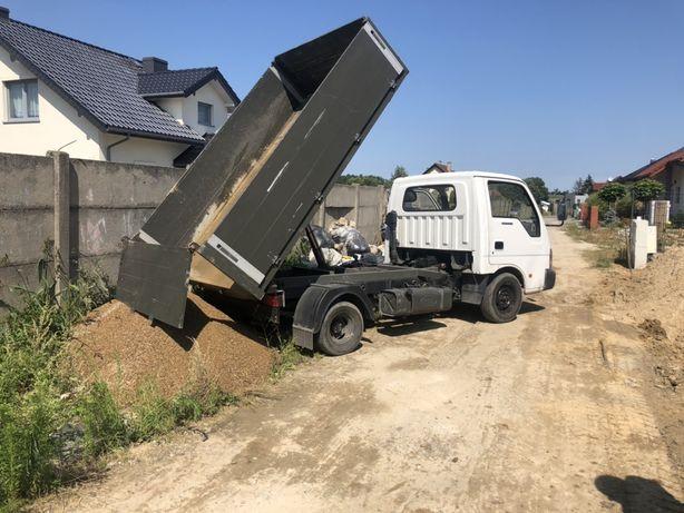 Mała wywrotka kipper transport ziemia beton gruz piasek żwir kruszywo