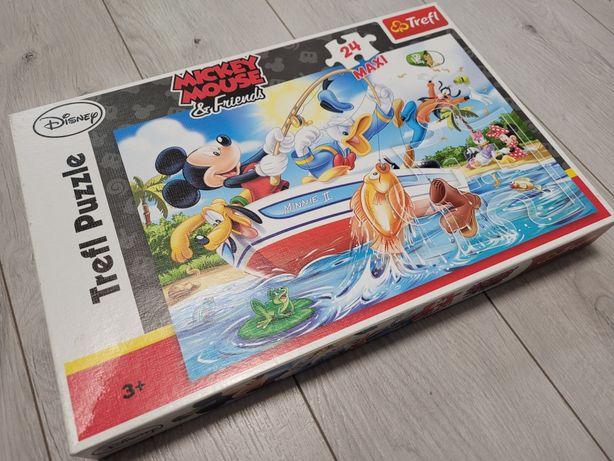 Puzzle Myszka Miki 24 elementy MAXI