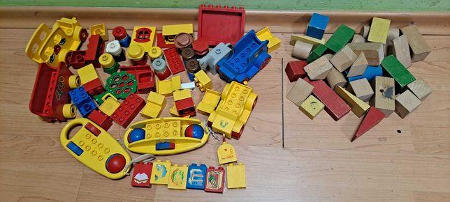 LEGO DUPLO mix klocków ludziki,klocki drewniane