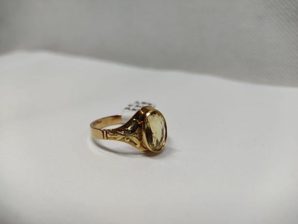 Pierścionek złoty, złoto 14 KT - Lombard Krosno BEtleja