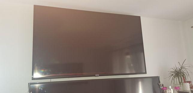 Tv 65 cali na części uszkodzona matryca