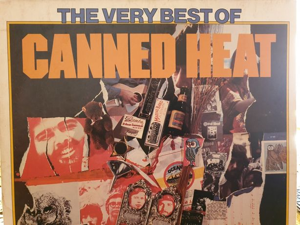 Canned Heat- The Very Best of Lp.