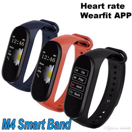 Фитнес трекер, браслет WearFit M4 Аналог Xiaomi Mi Band 4 давление