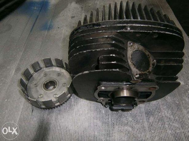 Peças motor RM125 antiga