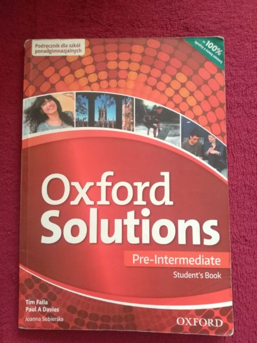 Oxford Solutions Pre-Intermediate Student's Book Rawicz - image 1