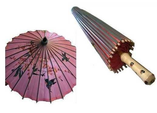 Sombrinha Oriental Japonesa