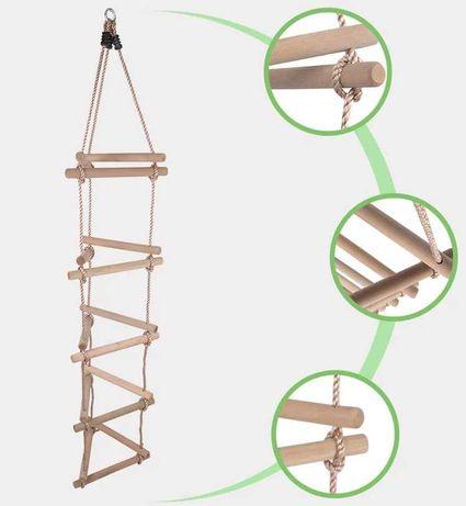 Підвісна драбина WCG трикутна для дитячого майданчика