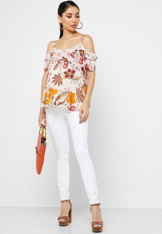 Nowa bluzka z odkrytymi ramionami Dorothy Perkins roz. M