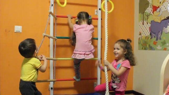 Espaldar treino para criança