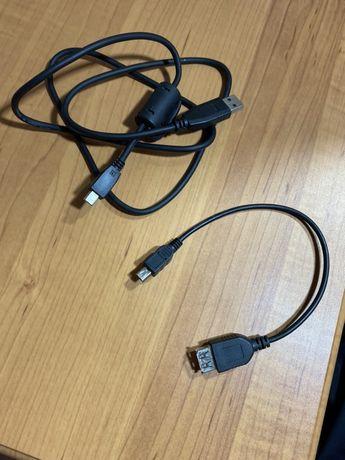 Переходник адаптер USB OTG - mini USB