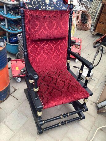 fotel bujany retro stary bujak