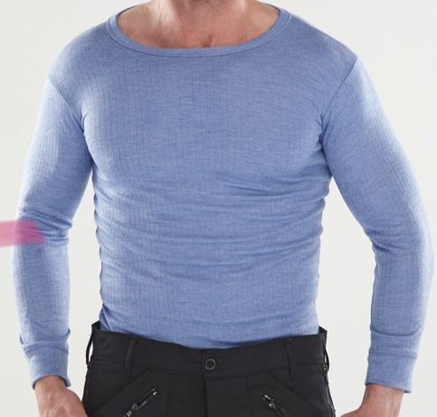 Koszulka dlugi rekaw bluzka termiczna, bielizna robocza XL