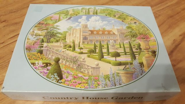 Puzzle 1000 Country House Garden