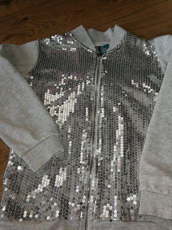 Bluza dziewczęca r. 128