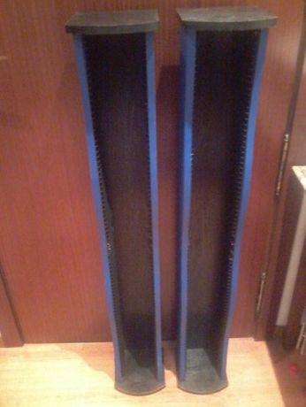 Porta CD´s em Torre (Azul e Preta) - 2 Unid.
